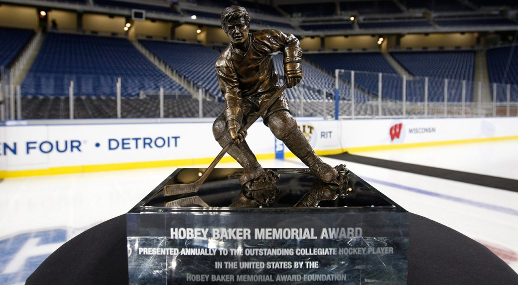 Canadian Jordan Kawaguchi named finalist for Hobey Baker award