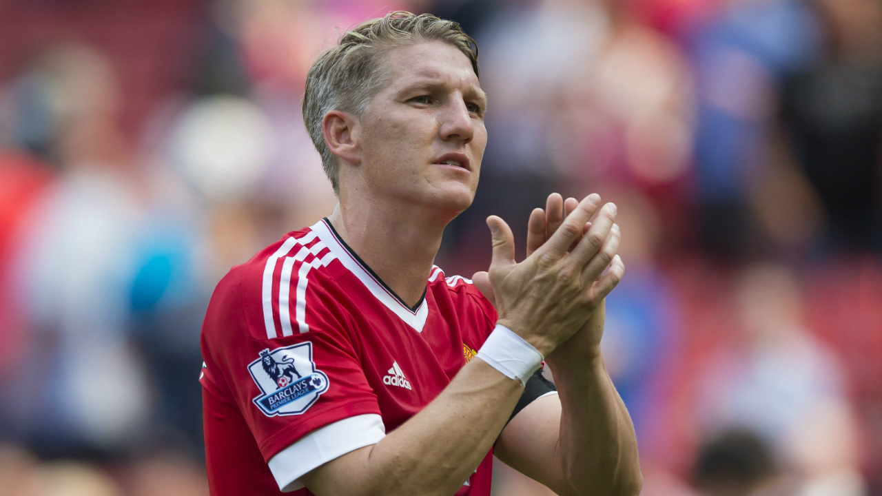 World-Cup-winner-Bastian-Schweinsteiger-is-leaving-Manchester-United-to-join-Chicago-Fire,-it-was-announced-Tuesday-March-21,-2017.-(Jon-Super,-File/AP)