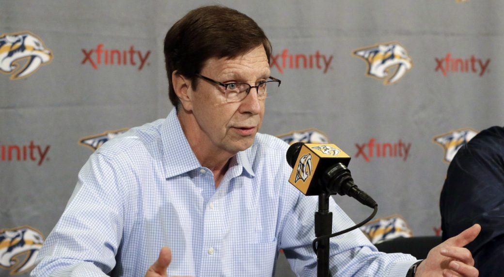 Nashville-Predators-general-manager-David-Poil.-(Mark-Humphrey/AP)