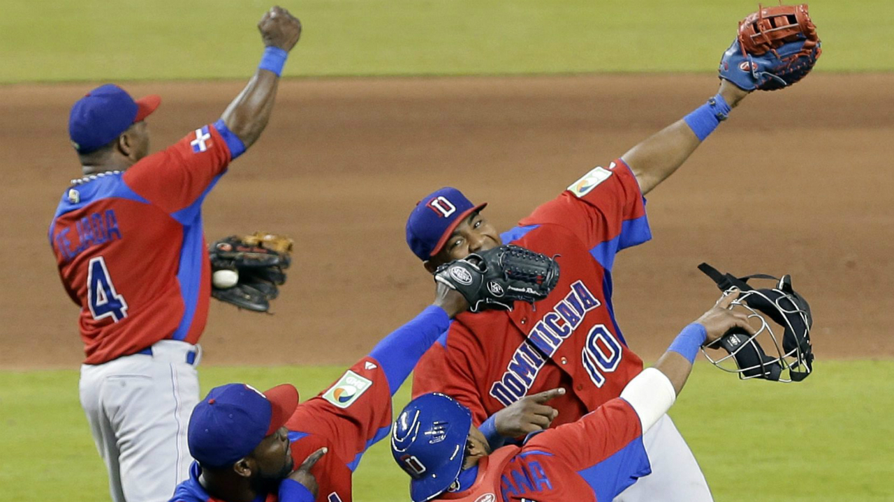 In-this-March-13,-2013,-file-photo,-Dominican-Republic-players-celebrate-their-3-1-win-over-the-United-States-in-a-second-round-game-of-the-World-Baseball-Classic-in-Miami.-The-fourth-edition-of-the-World-Baseball-Classic,-which-opens-Monday,-March-6,-2017,-when-South-Korea-hosts-Israel-in-Seoul,-figures-to-be-the-most-lucrative.-(Alan-Diaz,-File/AP)