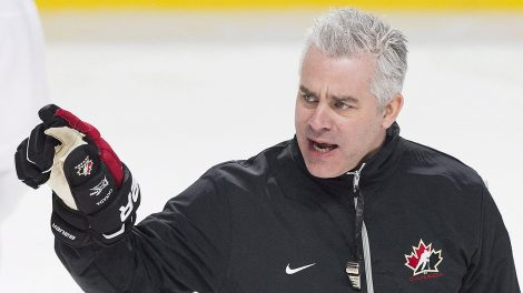 Team-Canada-head-coach-Dominique-Ducharme.-(Graham-Hughes/CP)