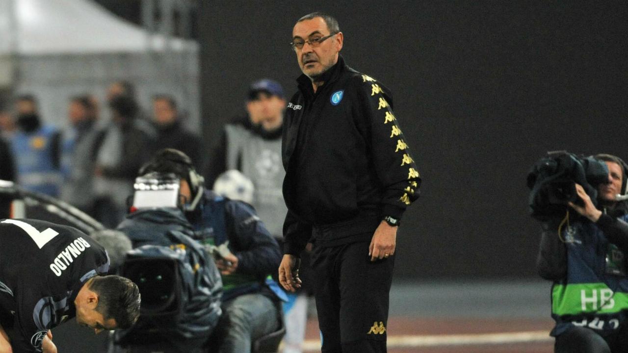 Napoli-coach-Maurizio-Sarri.-(Cesare-Abbate/ANSA-via-AP)