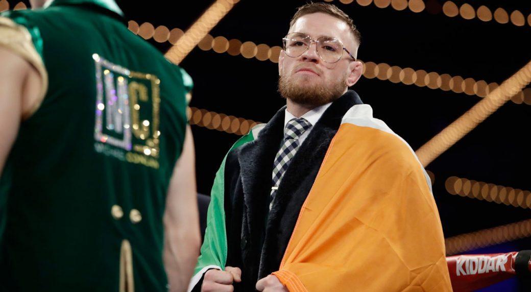 Conor-McGregor-Michael-Conlan-boxing