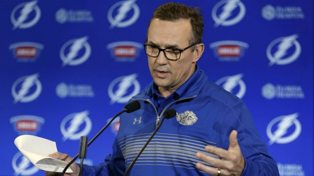 Tampa-Bay-Lightning-general-manager-Steve-Yzerman.-(Chris-O'Meara/AP)