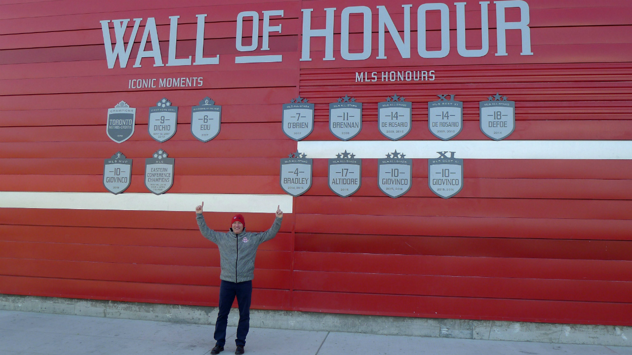 Toronto-FC-president-Bill-Manning-gestures-as-the-MLS-team's-wall-of-honour-is-unveiled-at-BMO-Field-in-Toronto,-Thursday,-March-2,-2017.-(Neil-Davidson/CP)