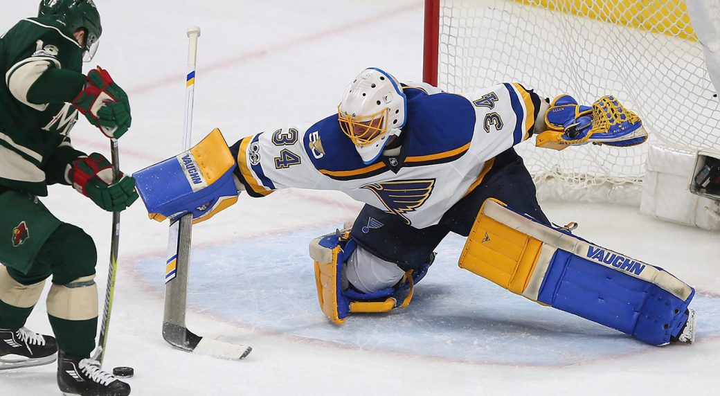 huge discount 2fb1f b6a8f Blues goaltender Jake Allen out at least 10-14 days with ...