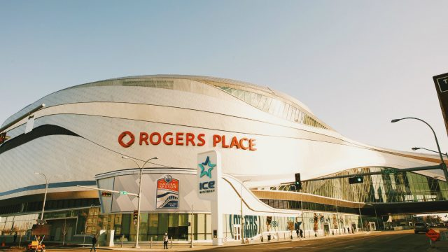 Outside-of-Rogers-Place.-(Photo-by-Daniel-Wood)