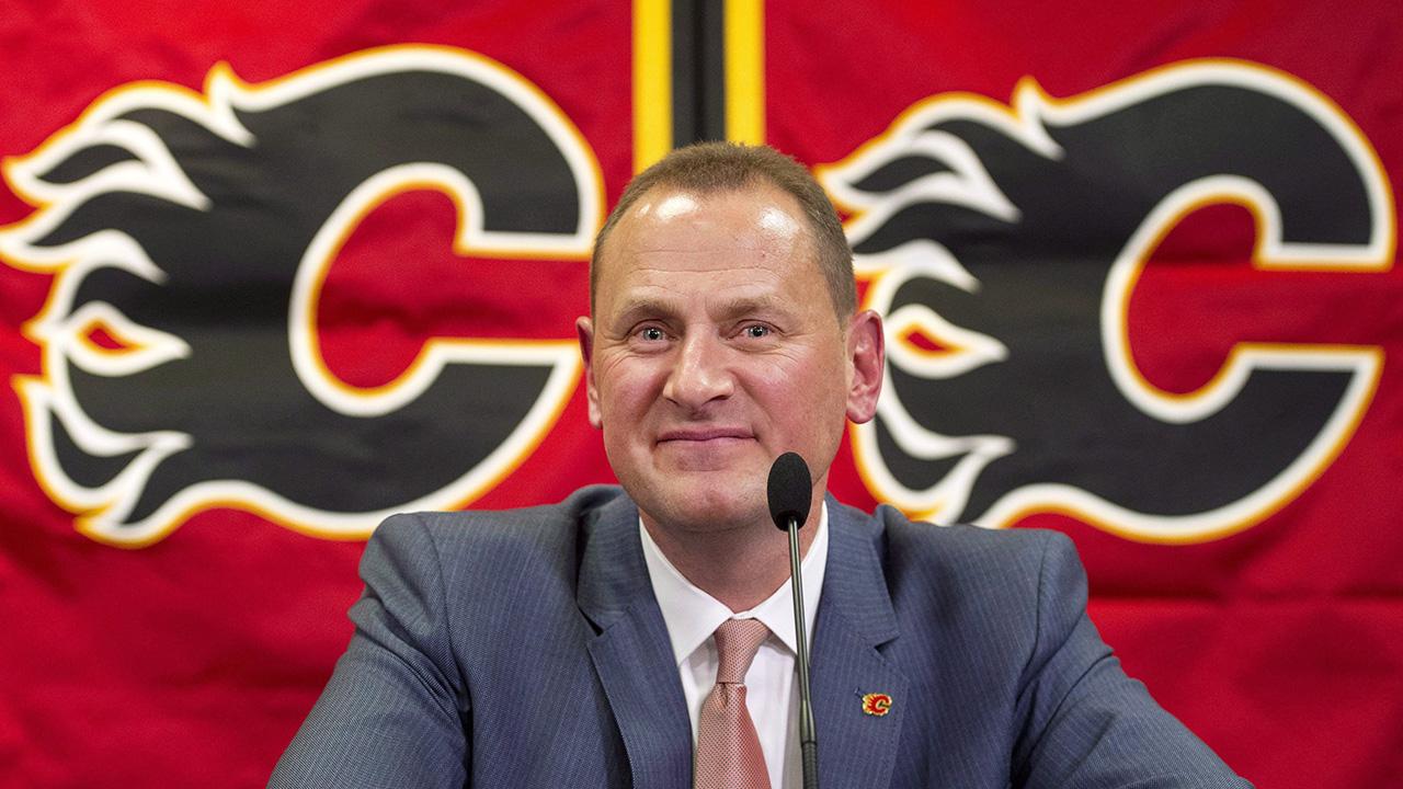 Watch Live: Flames GM Treliving addresses media as camp begins