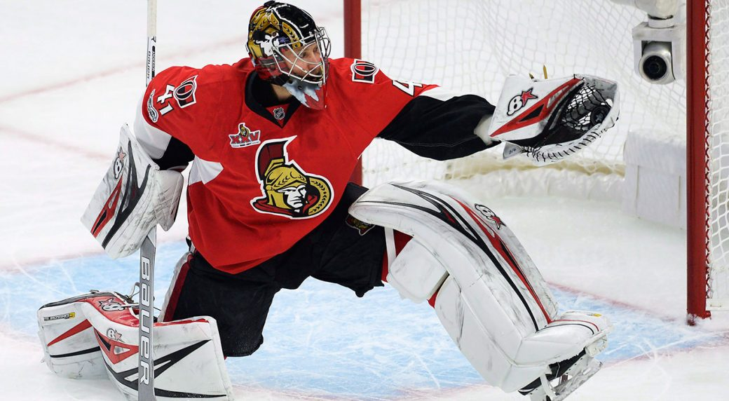 Senators Craig Anderson Honours Bryan Murray With New Mask