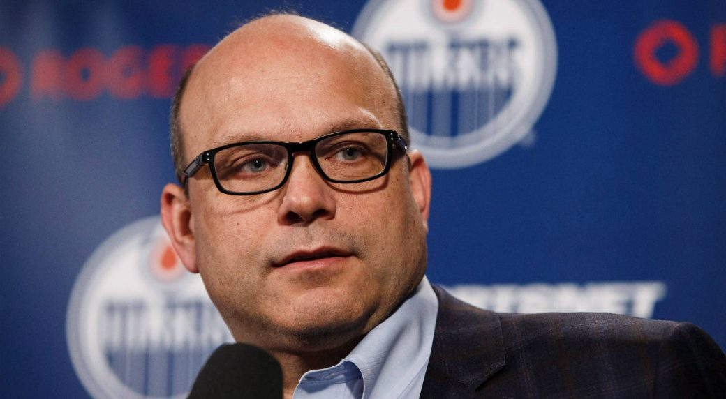 Edmonton-Oilers-general-manager-Peter-Chiarelli-speaks-to-the-media-during-the-Edmonton-Oilers'-end-of-the-year-press-conference-in-Edmonton,-Alta.,-on-Sunday,-April-10,-2016.-(Codie-McLachlan/CP)