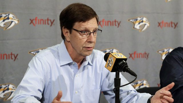 Nashville-Predators-general-manager-David-Poile.-(Mark-Humphrey/AP)