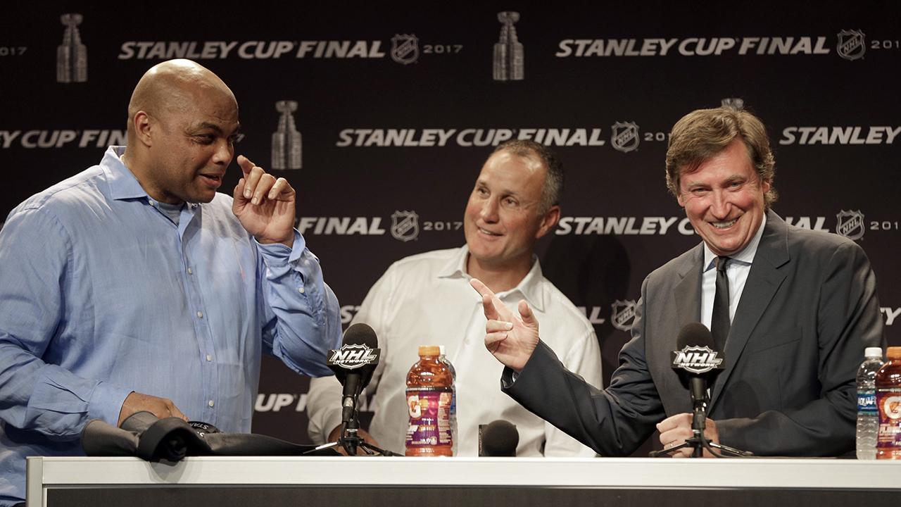 Charles Barkley ayudó a convencer a Wayne Gretzky de unirse a TNT