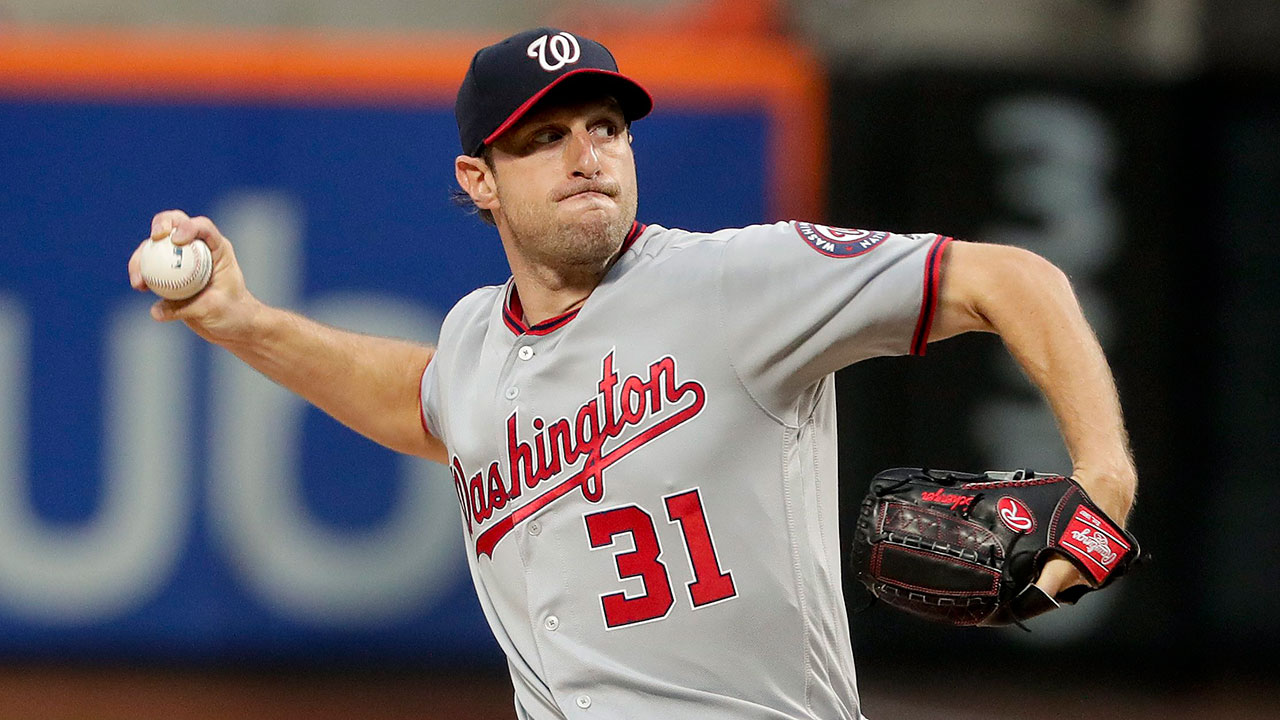 Washington-Nationals-pitcher-Max-Scherzer-(31)-delivers-against-the-New-York-Mets-during-the-first-inning-of-a-baseball-game,-Friday,-June-16,-2017,-in-New-York.-(Julie-Jacobson/AP)