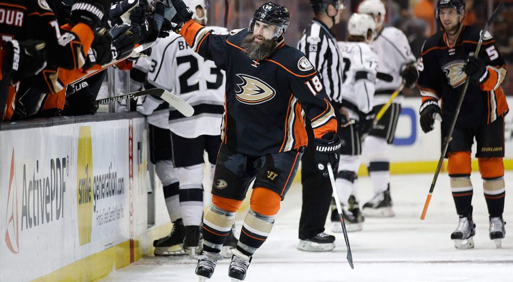finest selection c93d8 64aa1 Ducks winger Patrick Eaves keen to return after serious ...