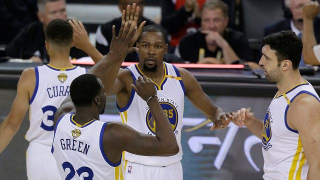 Golden-State-Warriors;-Kevin-Durant;-Steph-Curry