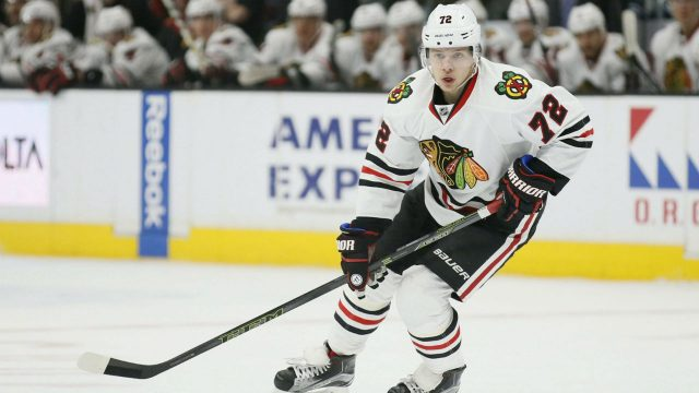 Former-Chicago-Blackhawks-left-wing-Artemi-Panarin-is-now-a-member-of-the-Columbus-Blue-Jackets.-(Danny-Moloshok/AP)