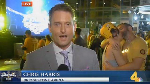 Nashville-Predators-fans-tonsil-hockey