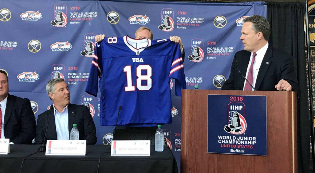 timeless design c4099 beaaa U.S. juniors to wear Bills-themed jerseys for outdoor game ...