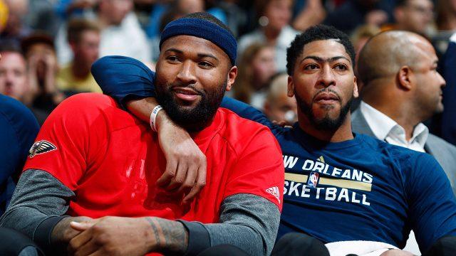 Pelicans-forwards-DeMarcus-Cousins-and-Anthony-Davis.-(David-Zalubowski/AP)