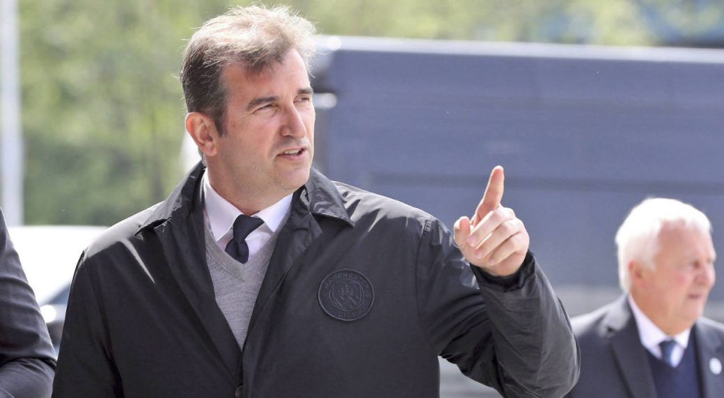 Manchester-City-CEO-Ferran-Soriano.-(Owen-Humphreys/PA-via-AP)
