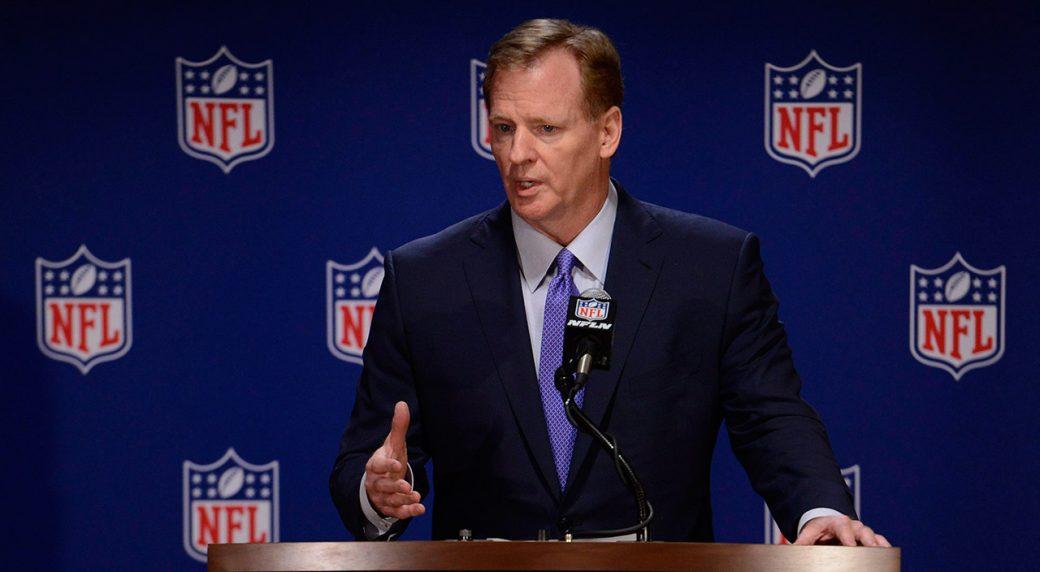 NFL-commissioner-Roger-Goodell-speaks-to-the-media.-(Paul-Beaty/AP)