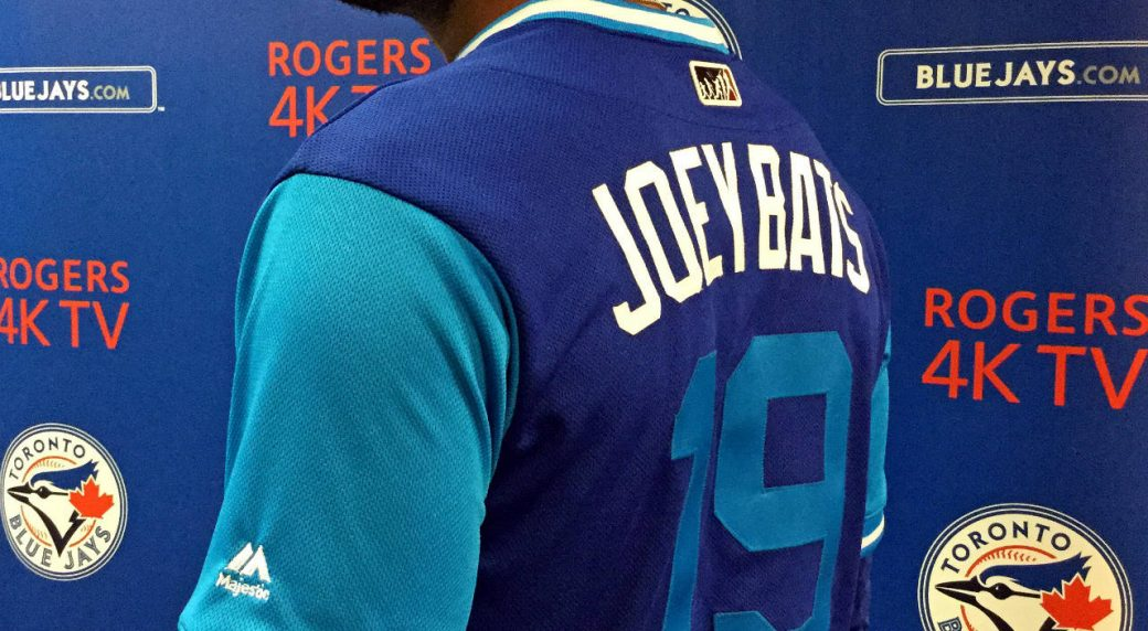 a57c96b5 Blue Jays to wear nicknames, alternate jerseys as part of 'Players Weekend'