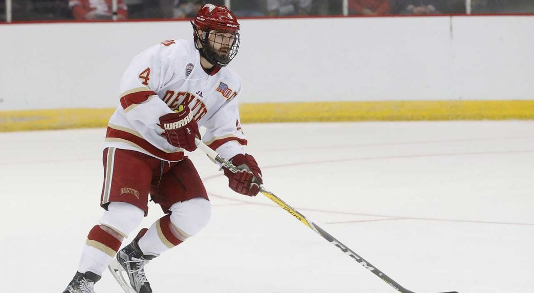 quality design 764bd 42c53 NCAA star Will Butcher signs with New Jersey Devils ...