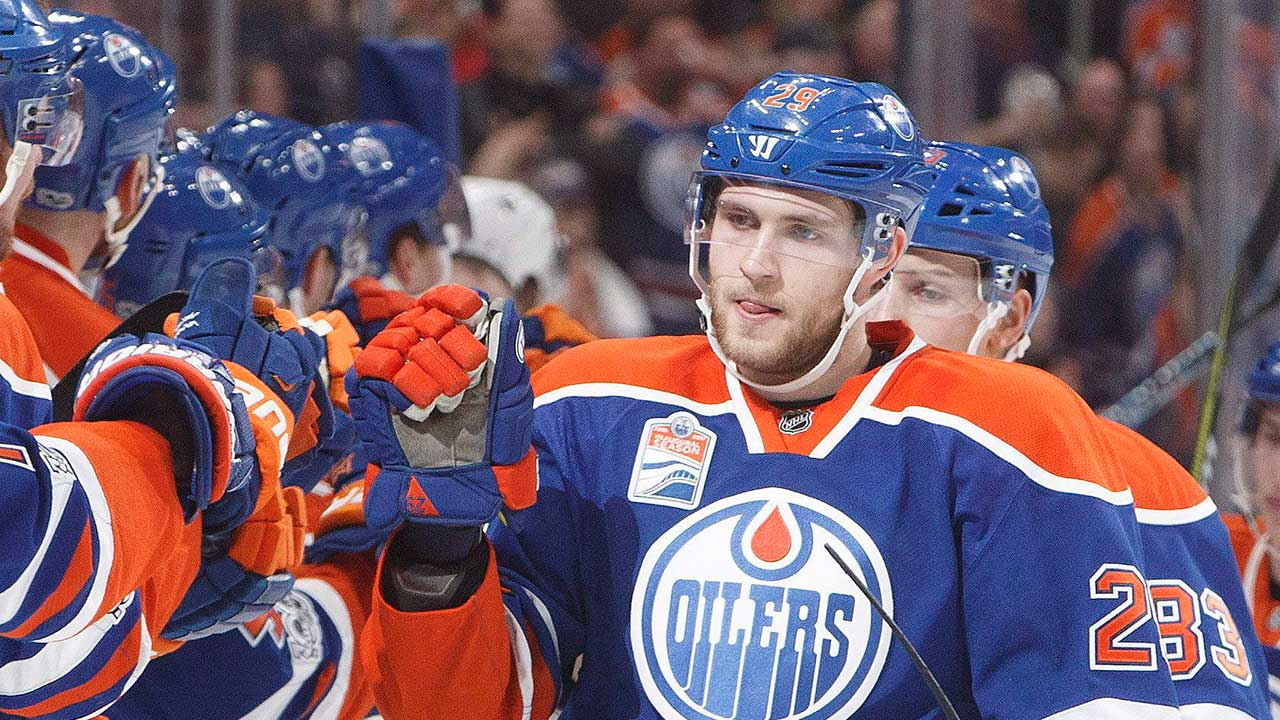 Edmonton-Oilers;-Leon-Draisaitl