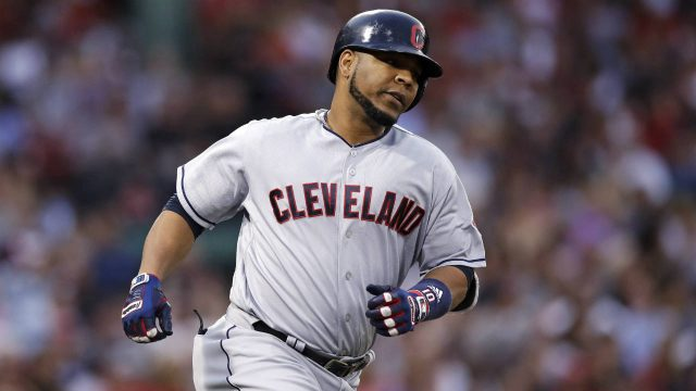Cleveland-Indians-designated-hitter-Edwin-Encarnacion-rounds-the-bases-on-his-two-run-home-run-off-Boston-Red-Sox-starting-pitcher-Doug-Fister-during-the-fifth-inning-of-a-baseball-game-in-Boston,-Monday,-Aug.-14,-2017.-(Charles-Krupa/AP)