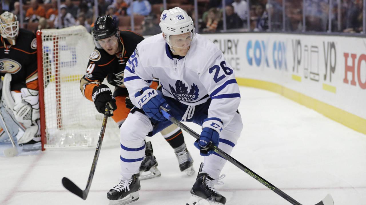 Toronto-Maple-Leafs'-Nikita-Soshnikov.-(Jae-C.-Hong/AP)