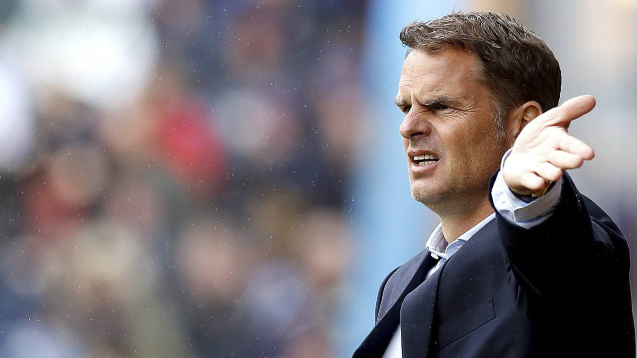Crystal-Palace-manager-Frank-de-Boer-gestures-on-the-touchline-during-the-English-Premier-League-soccer-match-against-Burnley-at-Turf-Moor,-Burnley,-England,-Sunday-Sept.-10,-2017.-(Martin-Rickett/PA-via-AP)