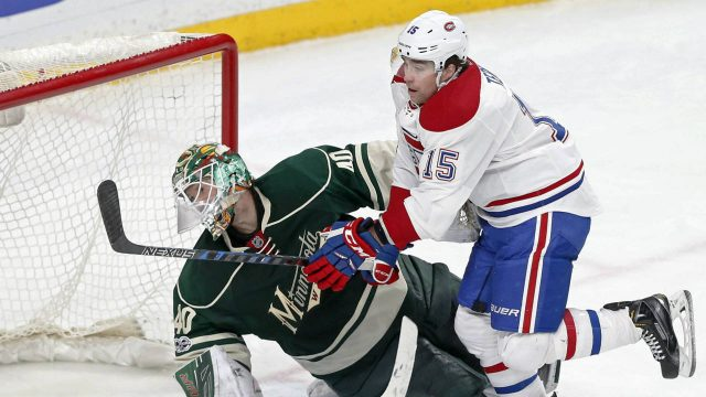 Montreal-Canadiens'-Chris-Terry,-right.-(Jim-Mone/AP)