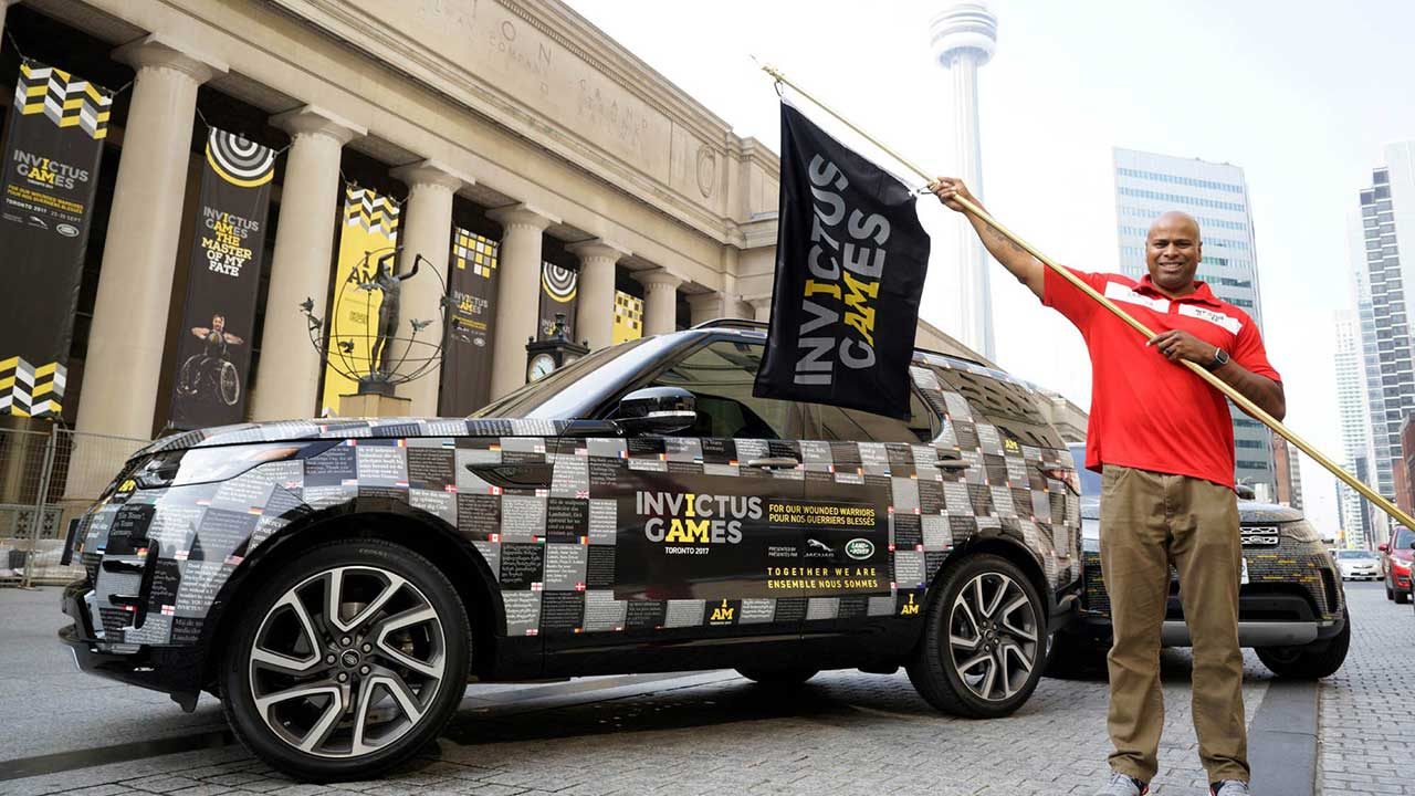 Jaguar Land Rover Driving Challenge Highlights Invictus Events List Sportsnet Ca