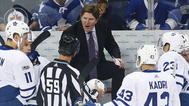 Toronto-Maple-Leafs;-Mike-Babcock