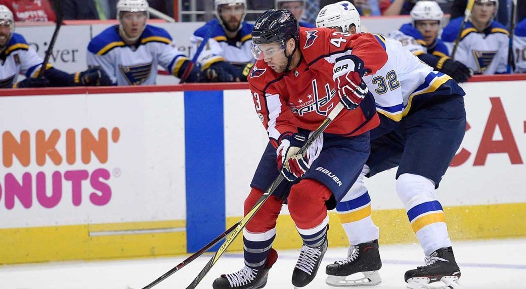 low priced bef45 ef1ad Capitals' Wilson suspended two games for hit on Blues' Blais ...