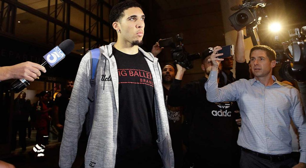 Pistons reach deal with LiAngelo Ball