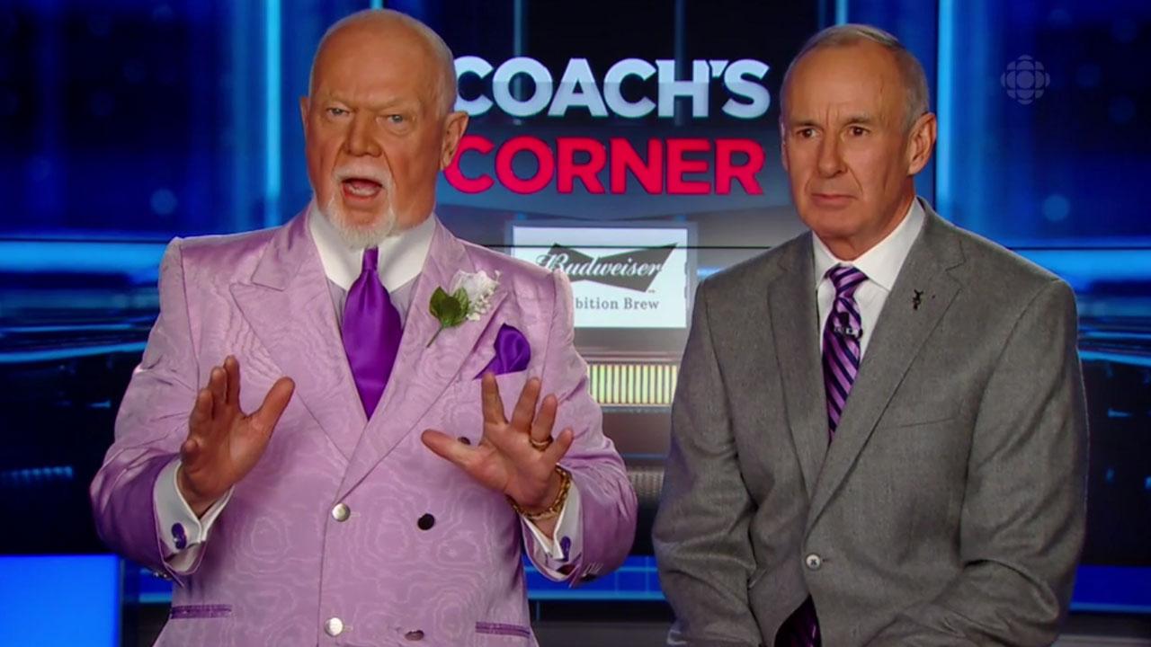 Don-Cherry-Ron-MacLean-Coach's-Corner