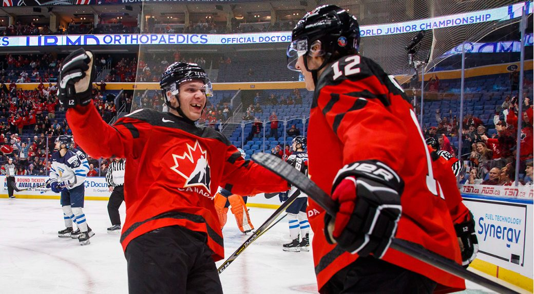 Katchouk Leads Canada Past Finland To Open World Juniors Sportsnet Ca