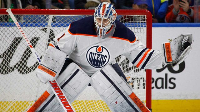Edmonton-Oilers-goalie-Laurent-Brossoit