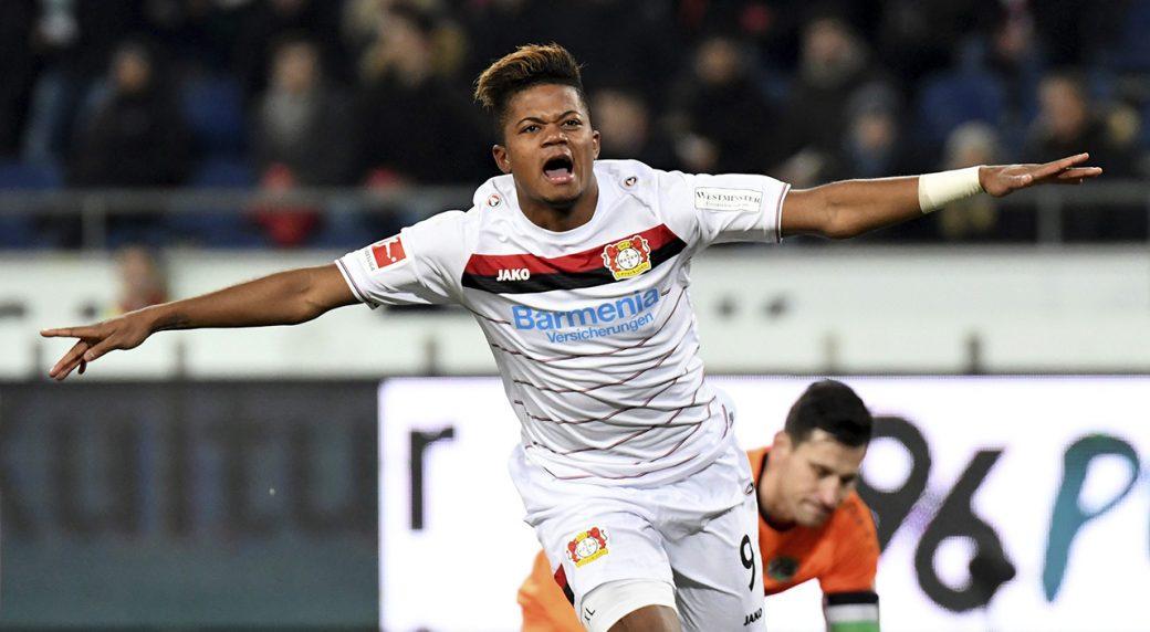 Bayer-Leverkusen;-Leon-Bailey