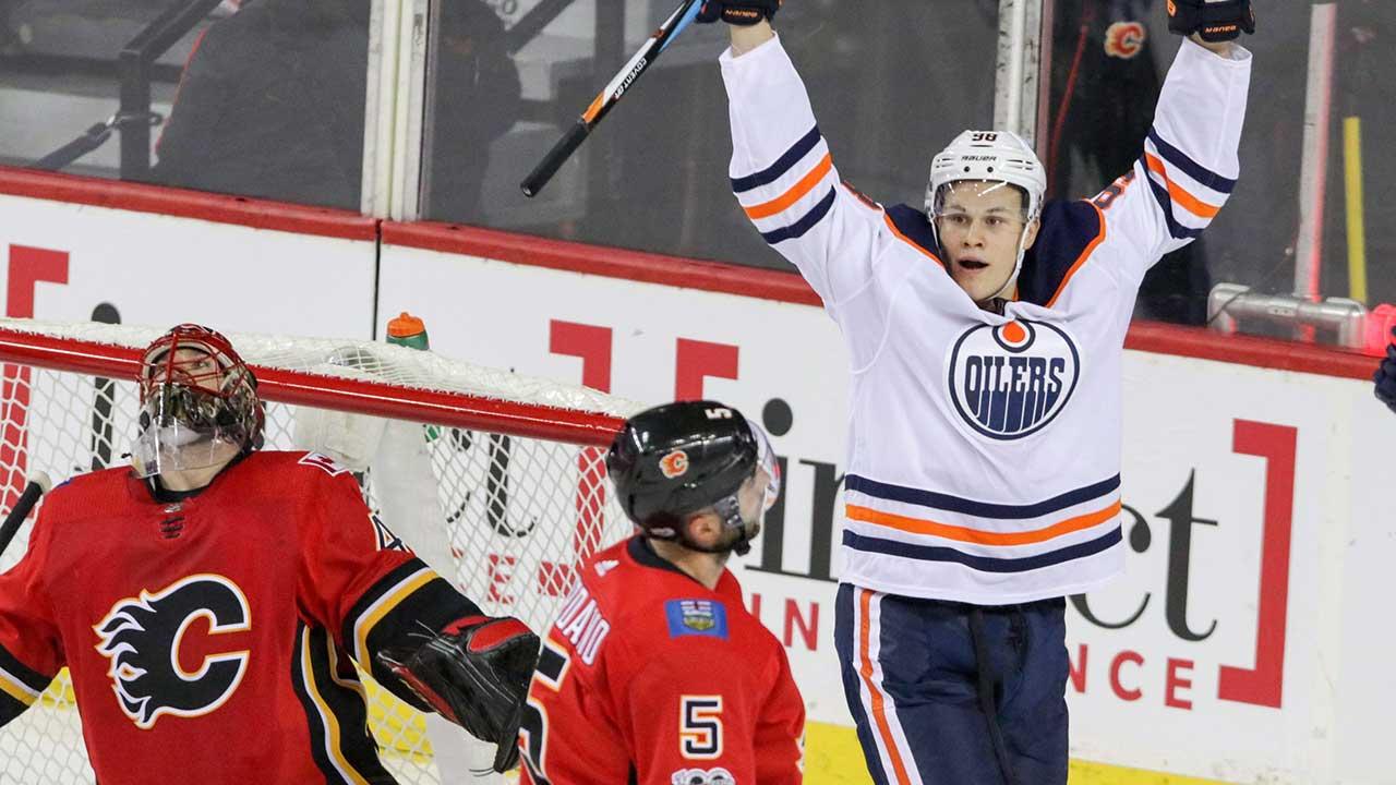 Calgary-Flames;-Edmonton-Oilers