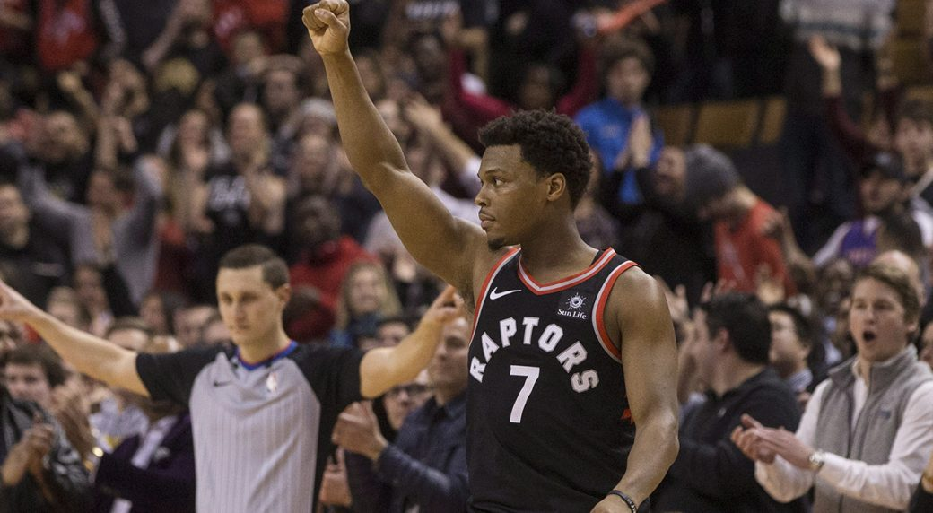 new product 10f04 4ed94 Raptors' Kyle Lowry reflects on early Villanova lessons ...