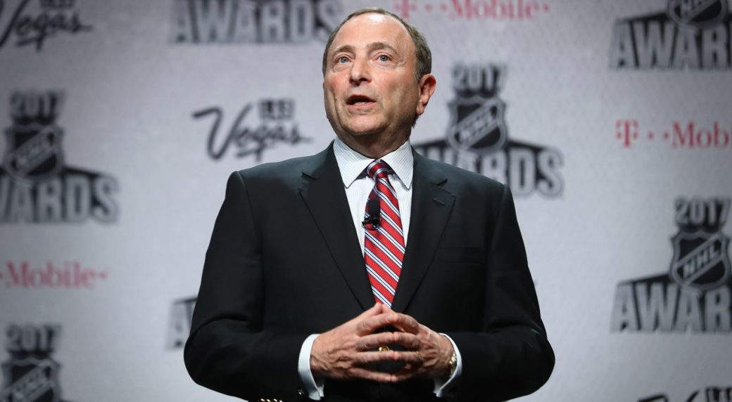 Commissioner Gary Bettman says National Hockey League  might not finish regular season