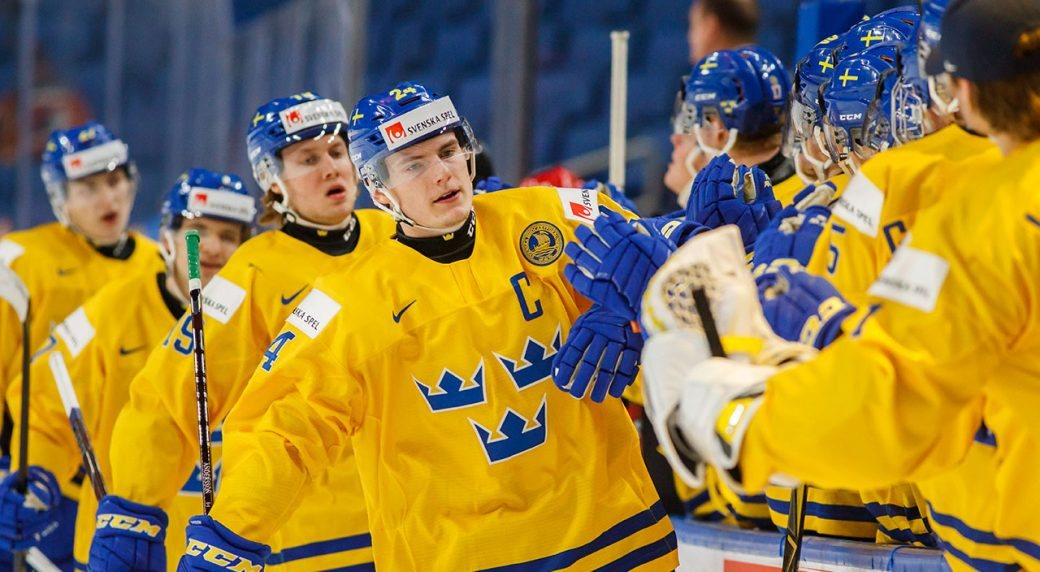 Sweden Holds On To Beat Slovakia In World Junior Quarter Finals