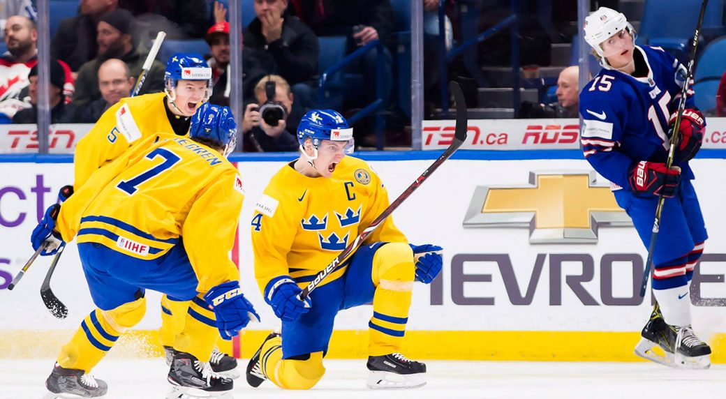Sweden Beats U S To Advance Into World Junior Gold Medal Game