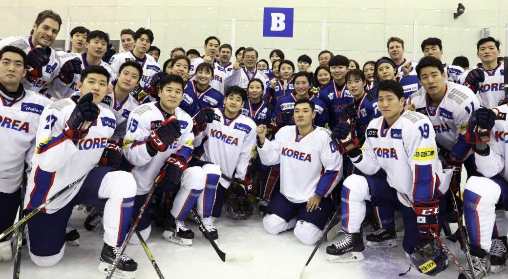 Talk of joint Olympics hockey team worries South Koreans