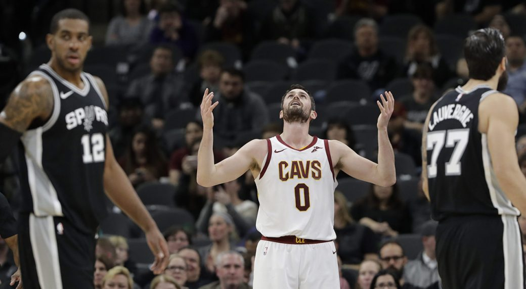 Kevin Love screamed at Cavaliers GM, per report