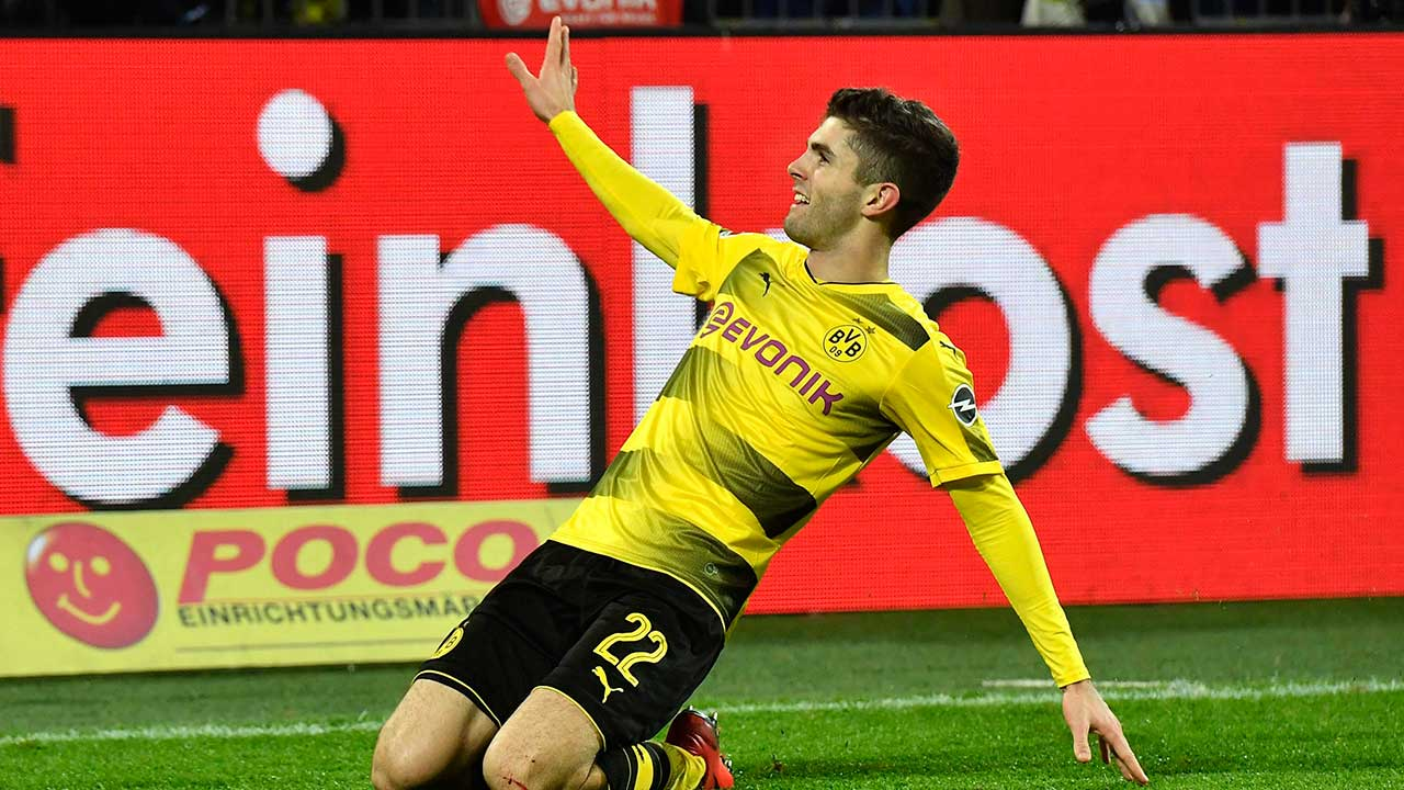 Dortmund's-Christian-Pulisic