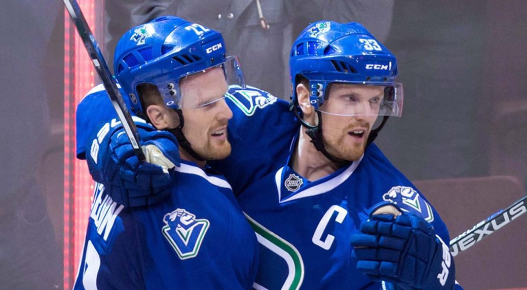 Sedin Twins Subban Zucker Named Finalists For King Clancy Trophy