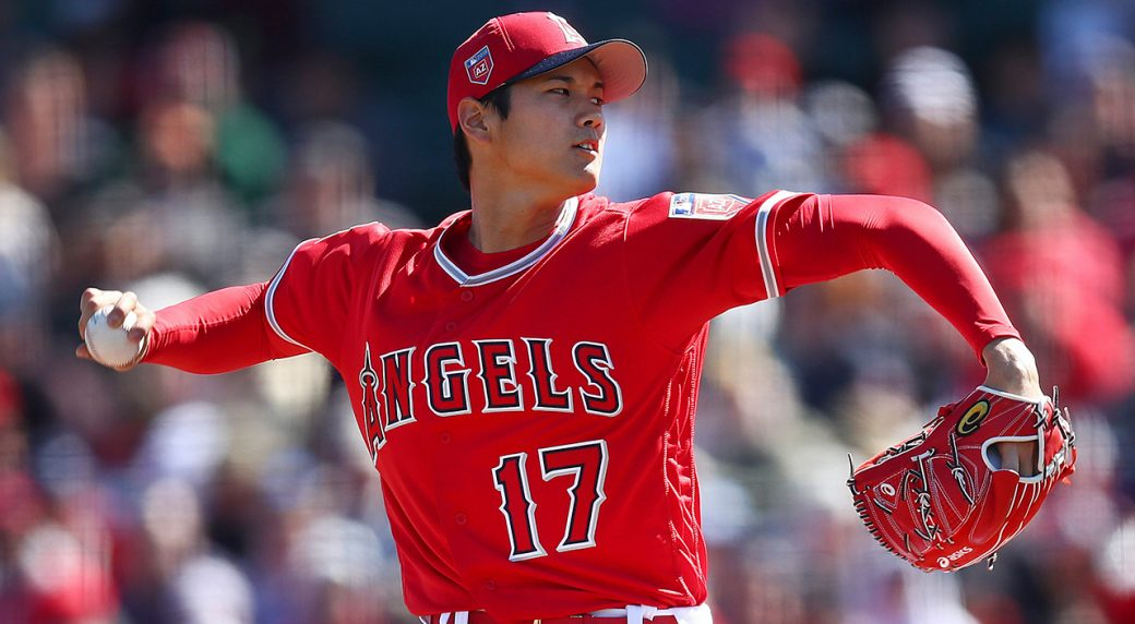 check out eed68 92faa Angels' Shohei Ohtani cleared to begin throwing progression ...